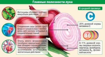 Использование полезных свойств печеного репчатого лука при лечении сахарного диабета