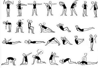 упражнения поясничный остеохондроз