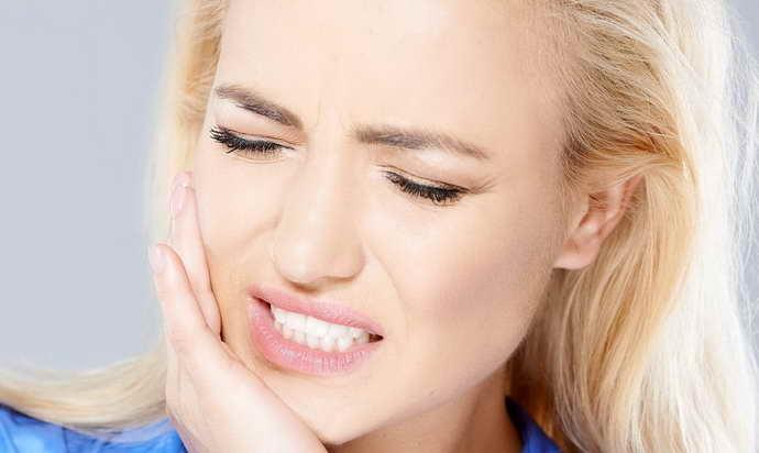Болевые ощущения в процессе жевания