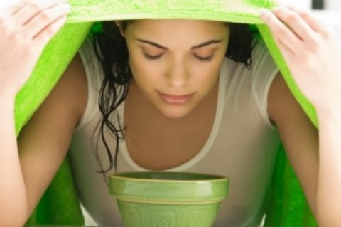 Паровая ванночка – неотъемлемый элемент механической чистки.