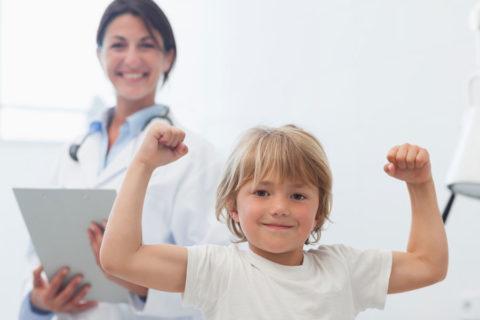 В больнице ребенок быстро пойдет на поправку