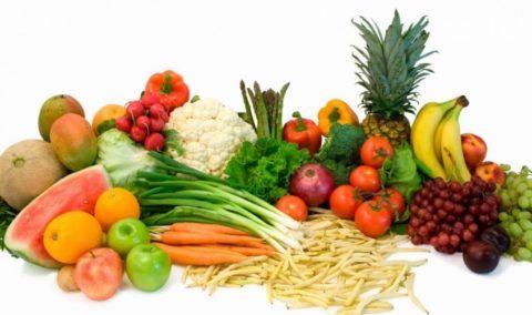 Вся польза – в овощах и фруктах