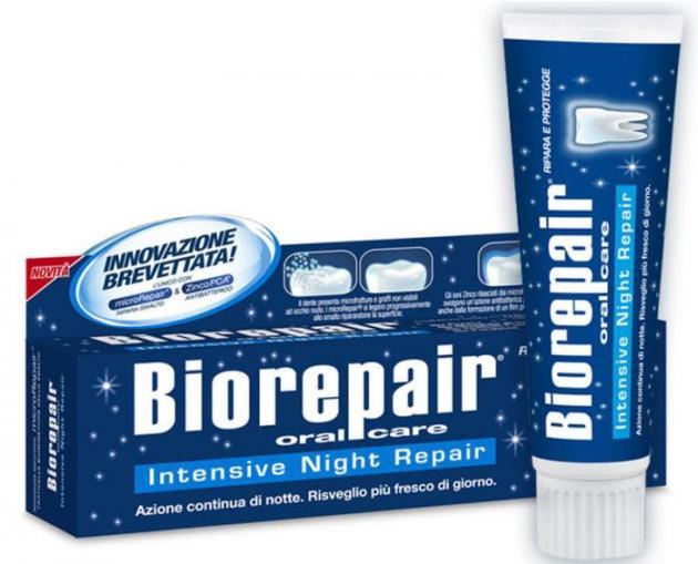 зубная паста biorepair Intensive Night Repair