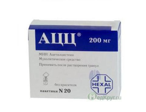 Ацетилцистеин – антидот парацетамола