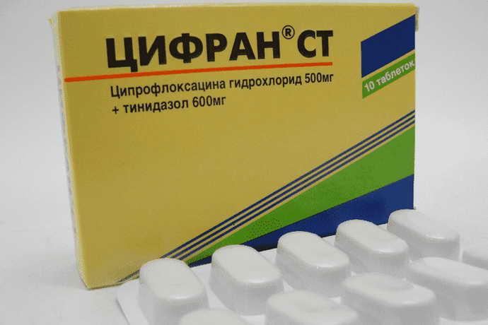 Цифран антибиотики после удаления зуба