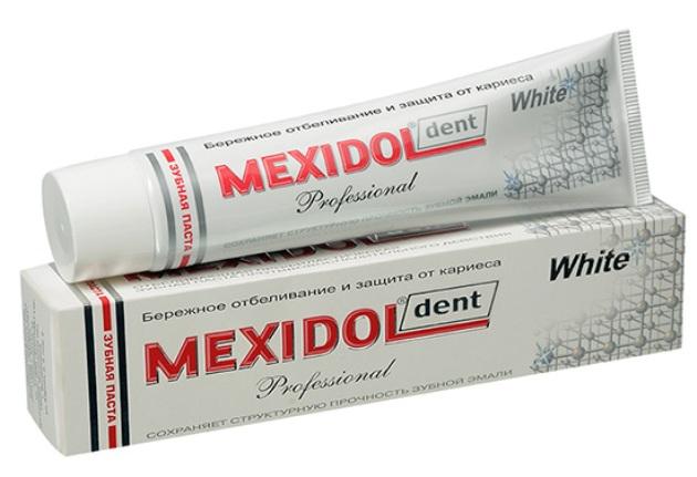 зубная паста Mexidol Dent Professional White