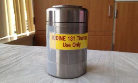 Для радиойодтерапии применяется изотоп I131