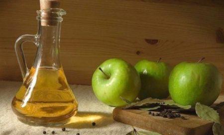 Уксус из яблок кислых сортов
