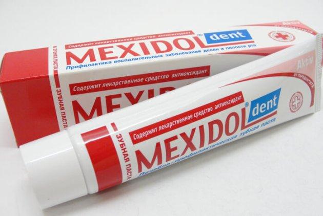 мексидол зубная паста