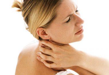 Сильные боли в шее
