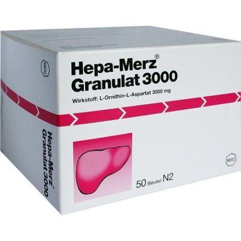 Гепа-мерц – один из популярных сегодня гепатопротекторов