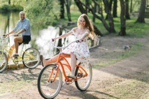 Прогулка на велосипеде