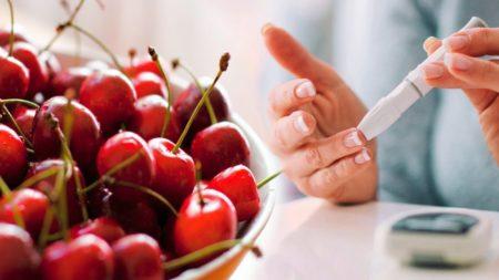 Употребление черешни при сахарном диабете 2 типа: аргументы за и против