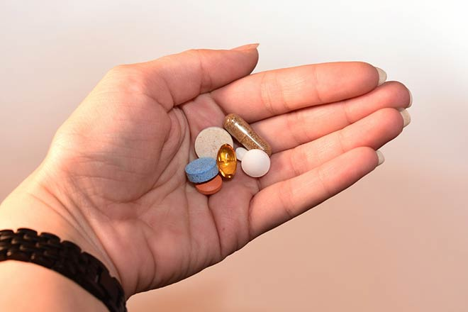 Прием таблеток