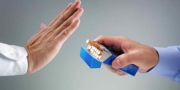 Отказ от курения и боль языка