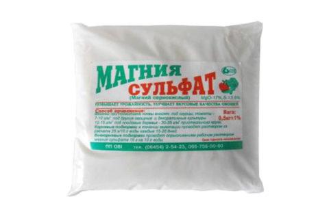 Сульфат магния – одно из средств для очищения печени.