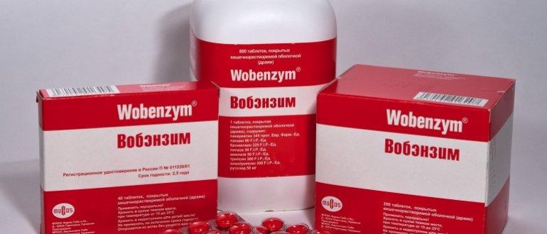 простатит лечение вобэнзимом