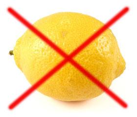 Лимон запрещен при панкреатите