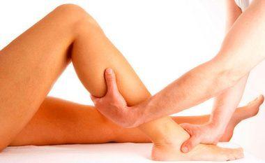 массаж ног при остеохондрозе