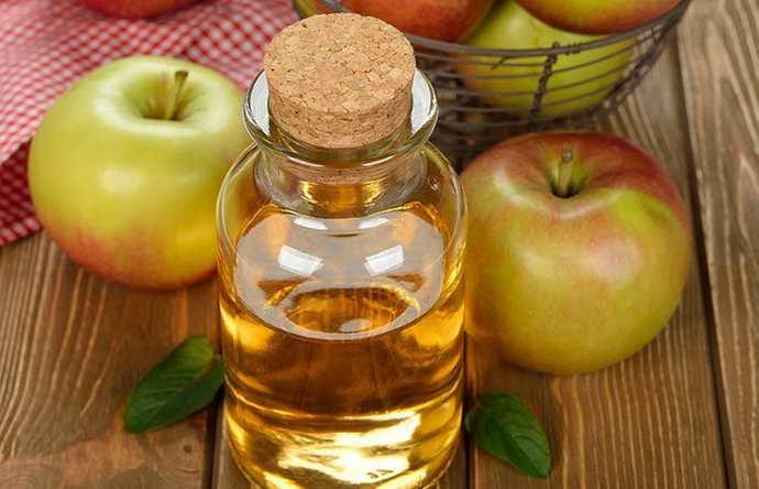 Яблочный уксус от запаха из рта