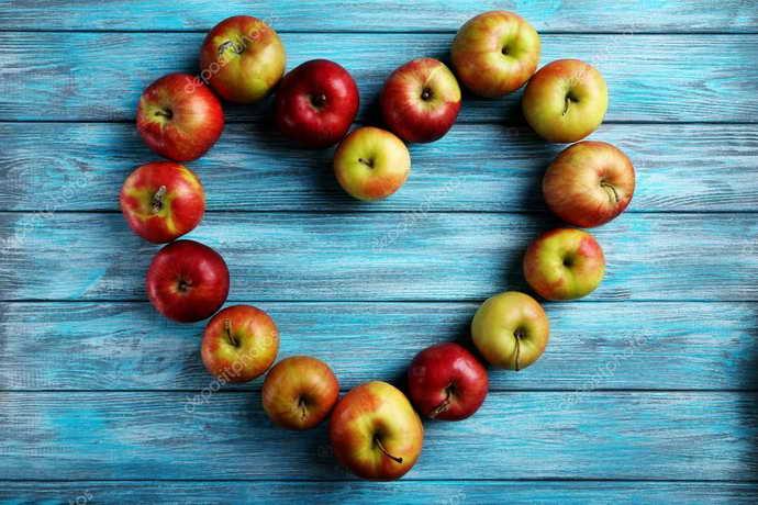 Свежие яблоки от запаха изо рта