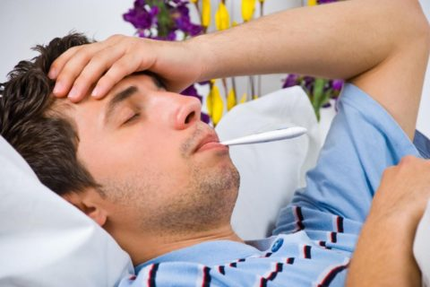 Часто пищевые токсикоинфекции сопровождаются повышением температуры тела