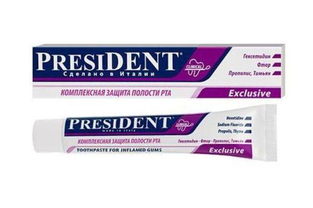 зубная паста для десен PresiDENT Exclusive