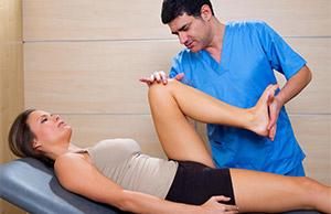 Физиотерапия для колена