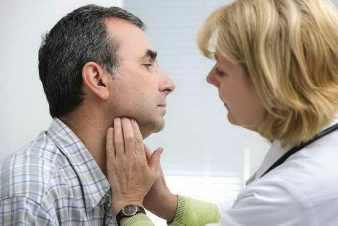 Симптоматика воспаления околоушной железы
