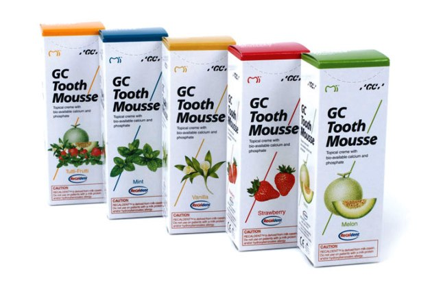 лечение клиновидного дефекта зуба с помощью геля Tooth Mousse