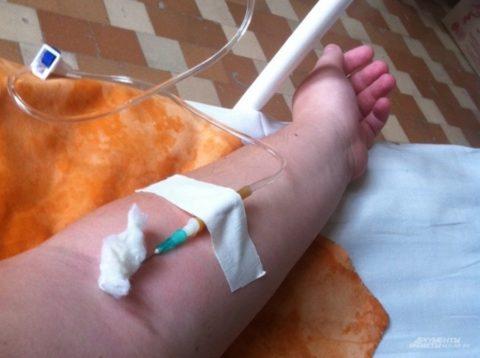 Инфузия – основа лечения большинства интоксикаций