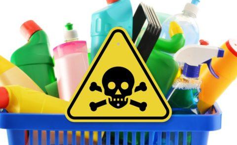Храните токсические средства в недоступном для детей месте