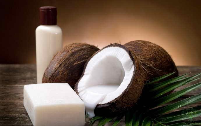 кокос для лечения боли языка