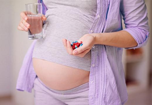 таблетки у беременной