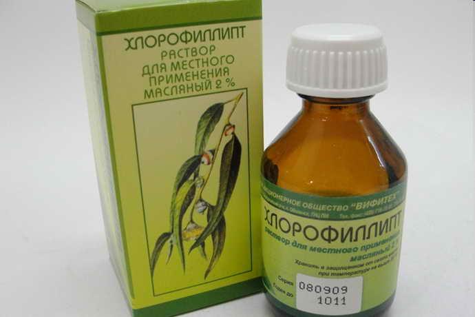 Хлорофиллипт от стоматита у детей