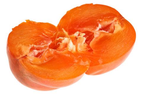 Хурма выводит холестерин и жир из сосудов