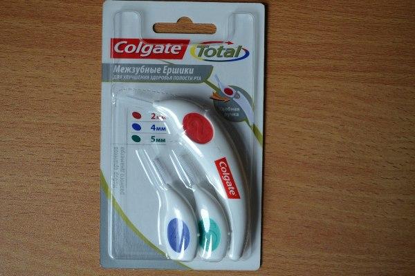 ершики для зубов ColgateTotal