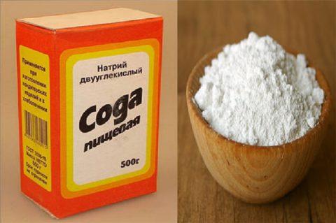 Пищевая сода используется в качестве разрыхлителя для теста