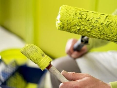Продолжительные работы с краской вызывают хроническую интоксикацию