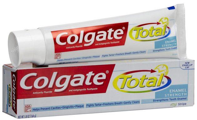 Colgate Total - одна из самых популярных паст для ежедневного использования