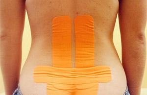 Пластер на спине