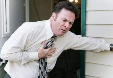 Сердечный приступ у мужчины