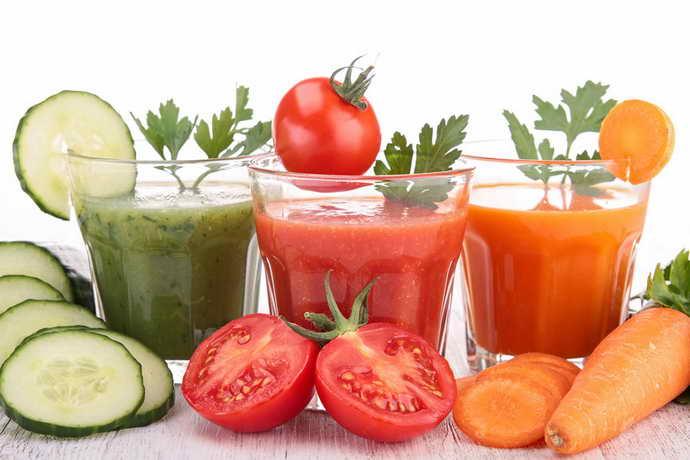 Овощные соки от стоматита