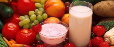Молочно-фруктово-ягодная диета