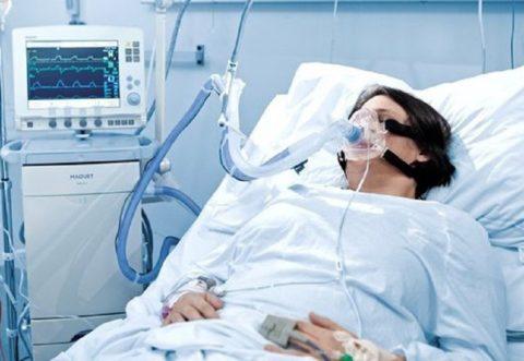 Чтобы спасти больного, может потребоваться ИВЛ