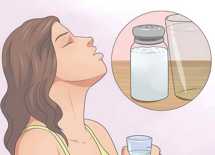 солевой раствор от боли зубов с брекетами