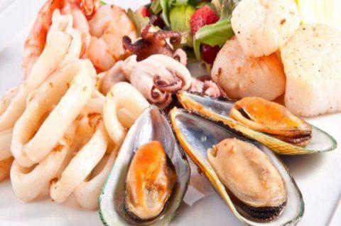 Морепродукты полезны как для взрослых, так и для детей