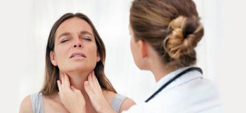 Увеличена щитовидка