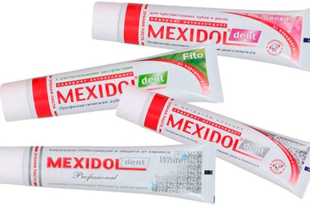 зубная паста мексидол