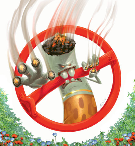 Основа профилактики никотиновых отравлений — отказ от табака в любом его виде